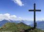Wanderung auf die Gipfel Planggenstock (1675m) und Hirzli (1640m) - 14.05.2012