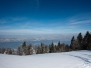 Winterliche Eindrücke vom Etzel - 19.02.2009