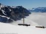 Winterwanderung Walenstadtberg (SG) - Alp Tschingla (1527m) - Lüsis (1275m) - 02.02.2011