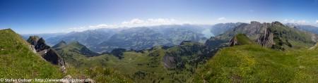 Panorama Alvier (2343m)